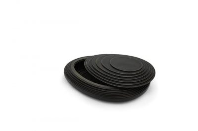 4. Koesterbox urn herinneringsbox, zwart MDF, 2 ltr inhoud, 30 cm, € 475