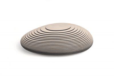 7. Koesterbox urn, hout, 3,5 ltr inhoud, 38 cm, € 550