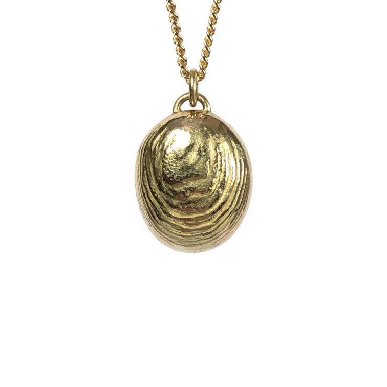 Koester ashanger 14 krt goud, n.o.t.k
